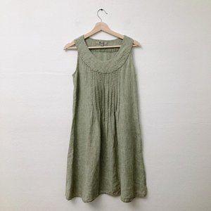 Flax 4-6 Sleeveless Shift Dress